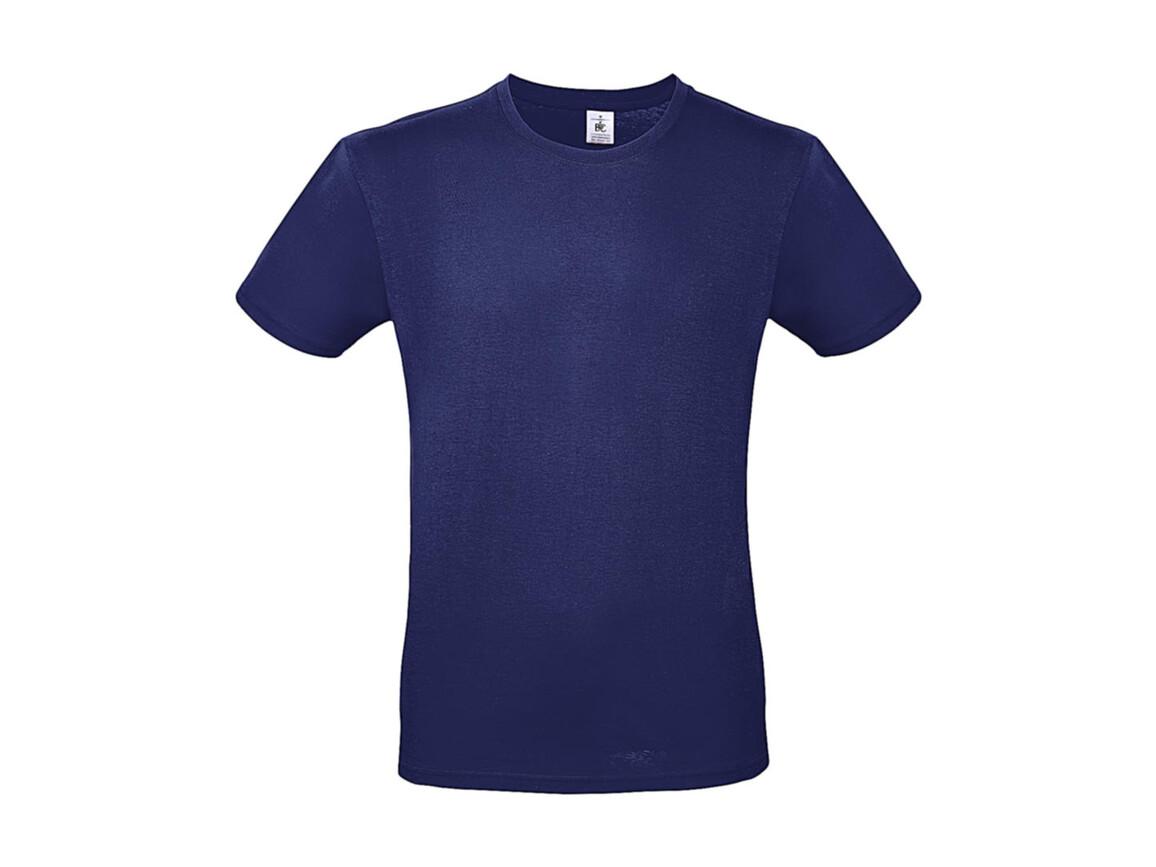 B & C #E150 T-Shirt, Electric Blue, M bedrucken, Art.-Nr. 015423082