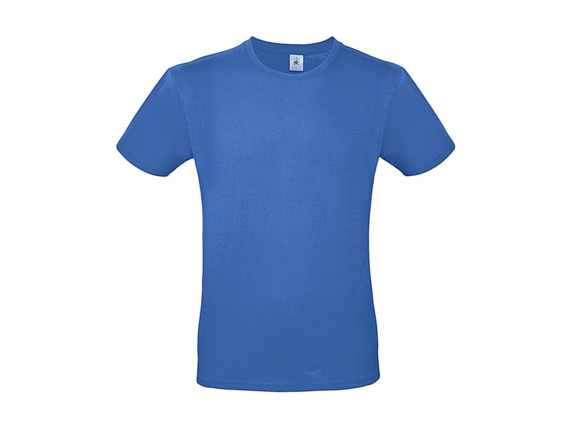 B & C #E150 T-Shirt, Azure, M bedrucken, Art.-Nr. 015423102
