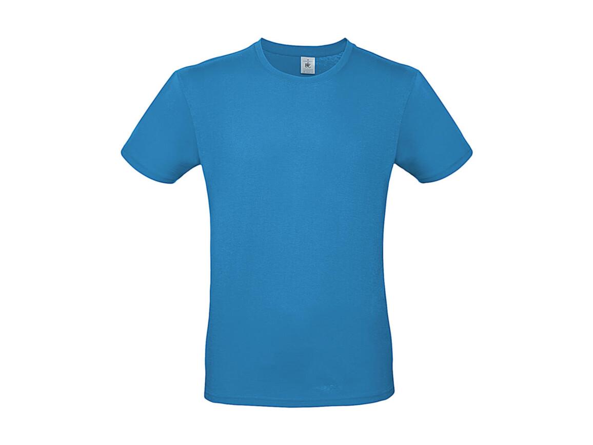 B & C #E150 T-Shirt, Atoll, S bedrucken, Art.-Nr. 015423141