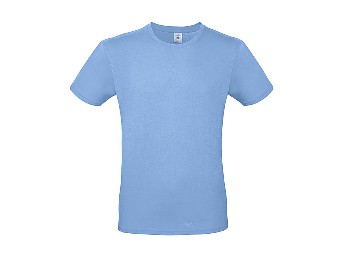 B & C #E150 T-Shirt, Sky Blue, XL bedrucken, Art.-Nr. 015423204