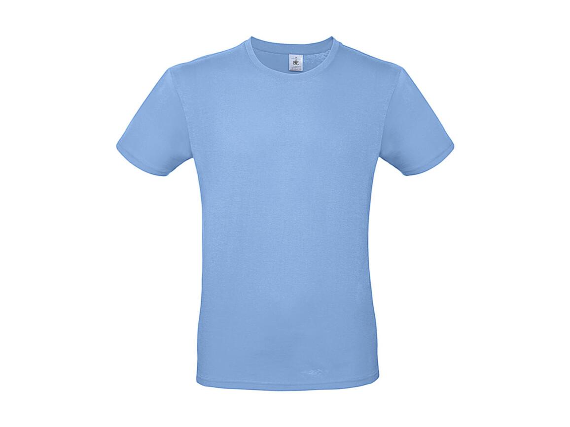B & C #E150 T-Shirt, Sky Blue, XS bedrucken, Art.-Nr. 015423200