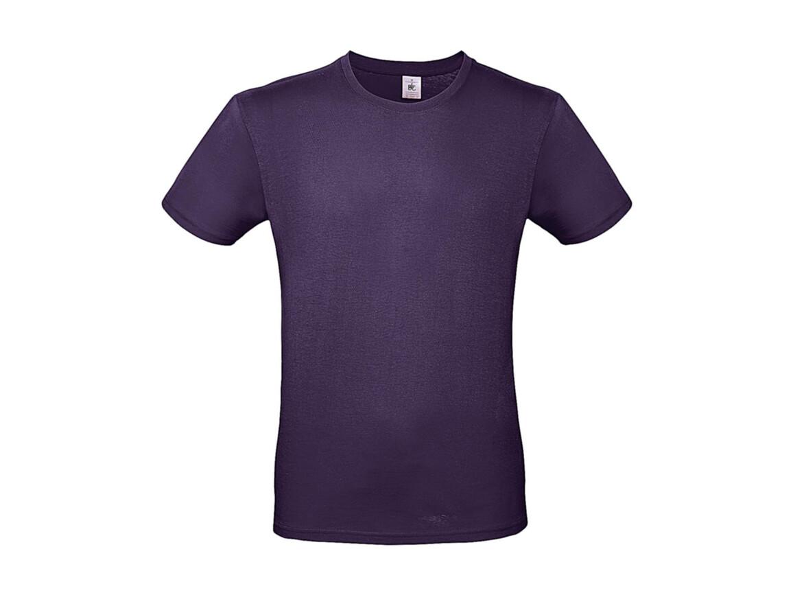 B & C #E150 T-Shirt, Radiant Purple, L bedrucken, Art.-Nr. 015423463