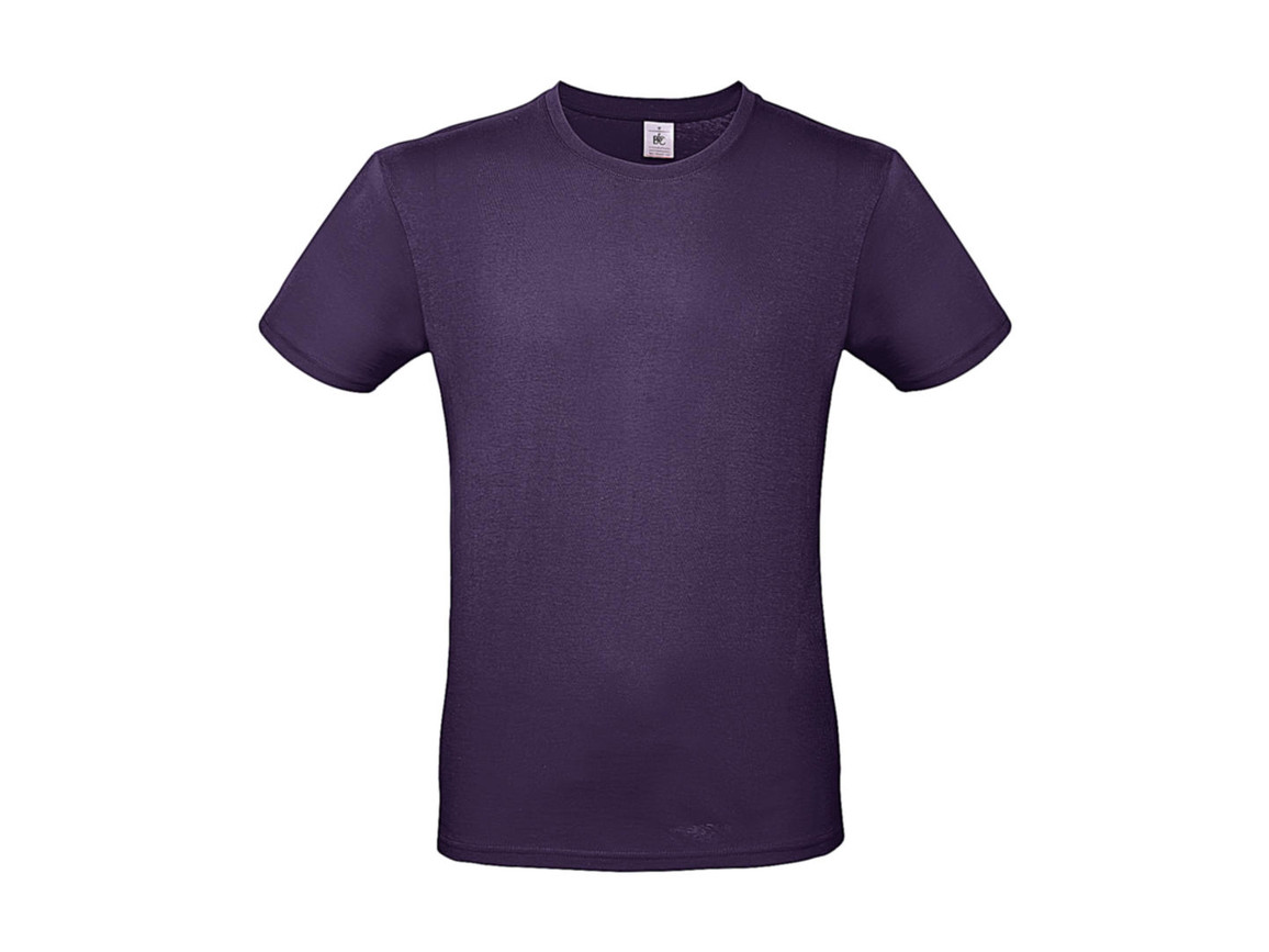 B & C #E150 T-Shirt, Radiant Purple, S bedrucken, Art.-Nr. 015423461