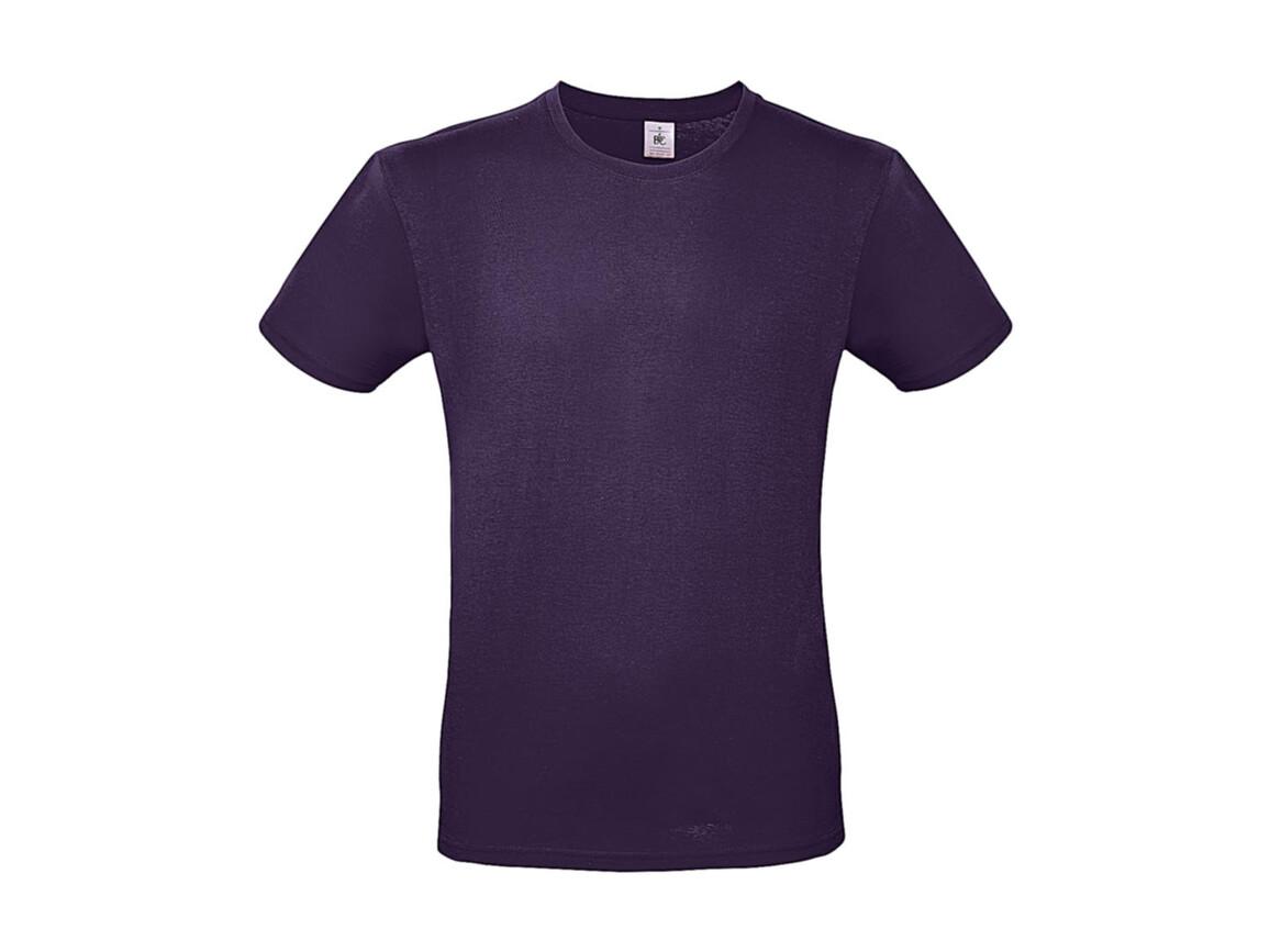 B & C #E150 T-Shirt, Urban Purple, XL bedrucken, Art.-Nr. 015423474