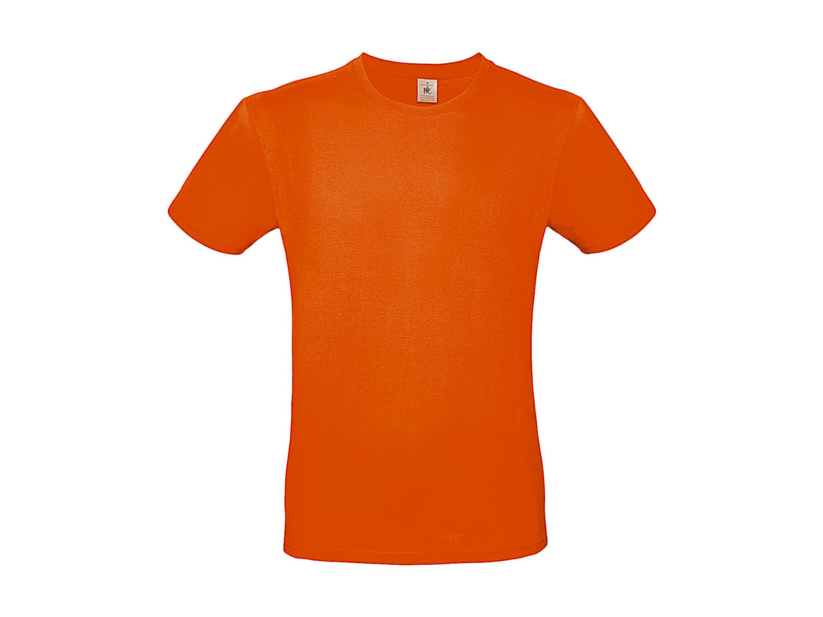B & C #E150 T-Shirt, Orange, XL bedrucken, Art.-Nr. 015424104