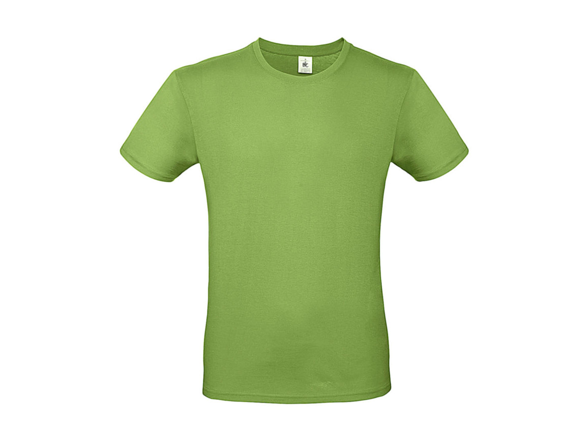 B & C #E150 T-Shirt, Orchid Green, 3XL bedrucken, Art.-Nr. 015425066