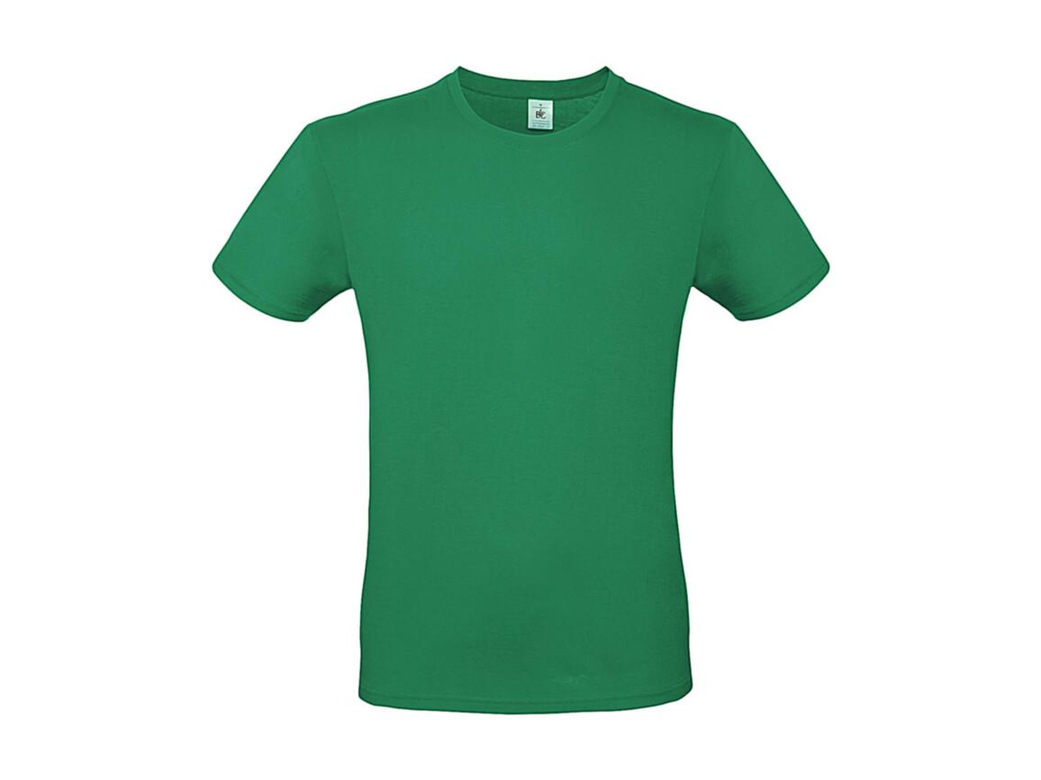 B & C #E150 T-Shirt, Kelly Green, 2XL bedrucken, Art.-Nr. 015425185