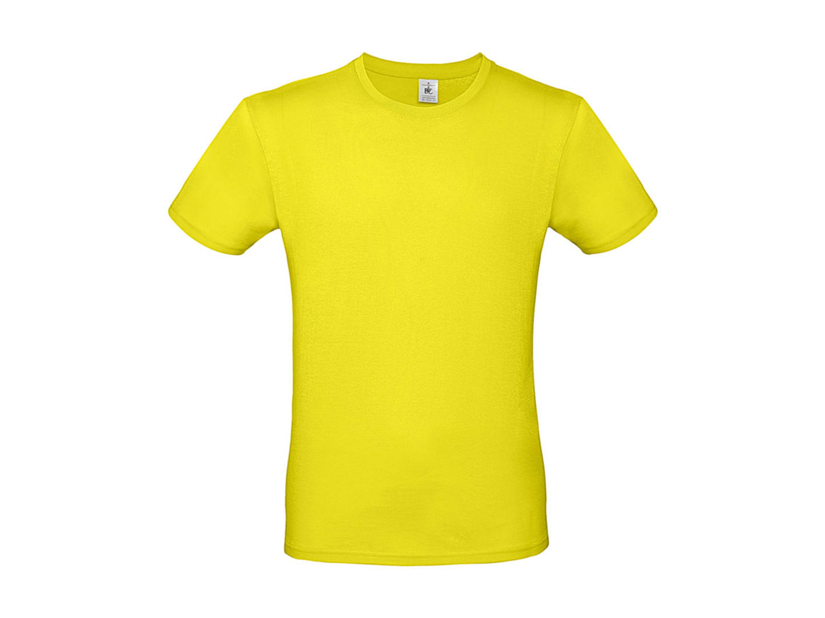B & C #E150 T-Shirt, Solar Yellow, XL bedrucken, Art.-Nr. 015426074