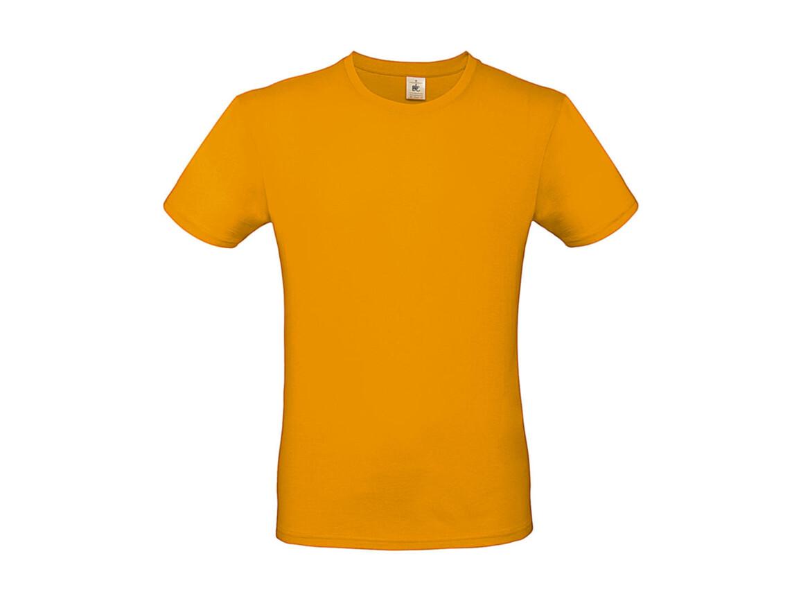 B & C #E150 T-Shirt, Apricot, M bedrucken, Art.-Nr. 015426232