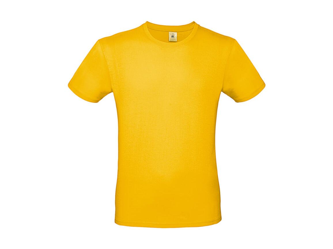 B & C #E150 T-Shirt, Gold, XS bedrucken, Art.-Nr. 015426430