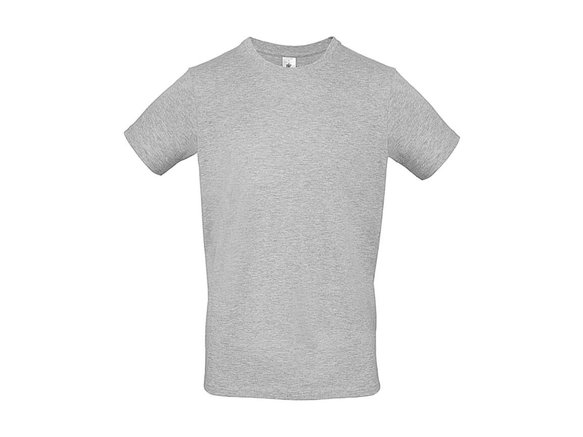B & C #E150 T-Shirt, Ash, XS bedrucken, Art.-Nr. 015427030