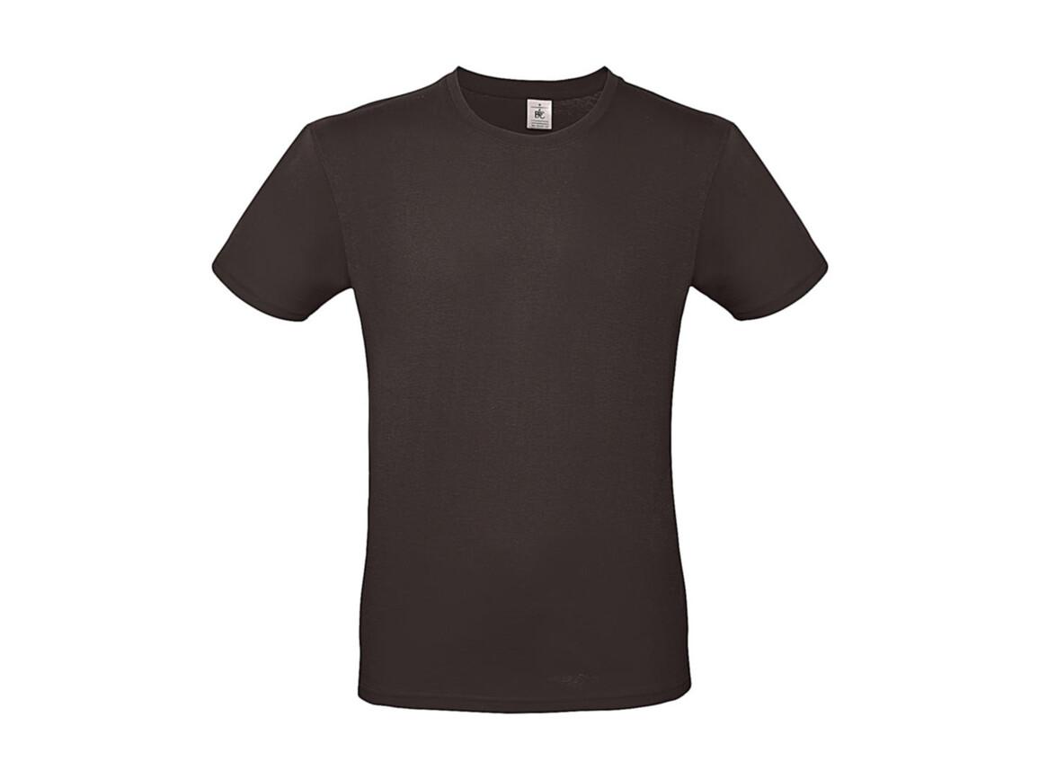 B & C #E150 T-Shirt, Bear Brown, XS bedrucken, Art.-Nr. 015427100