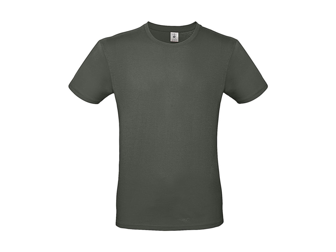 B & C #E150 T-Shirt, Millenial Khaki, 2XL bedrucken, Art.-Nr. 015427335