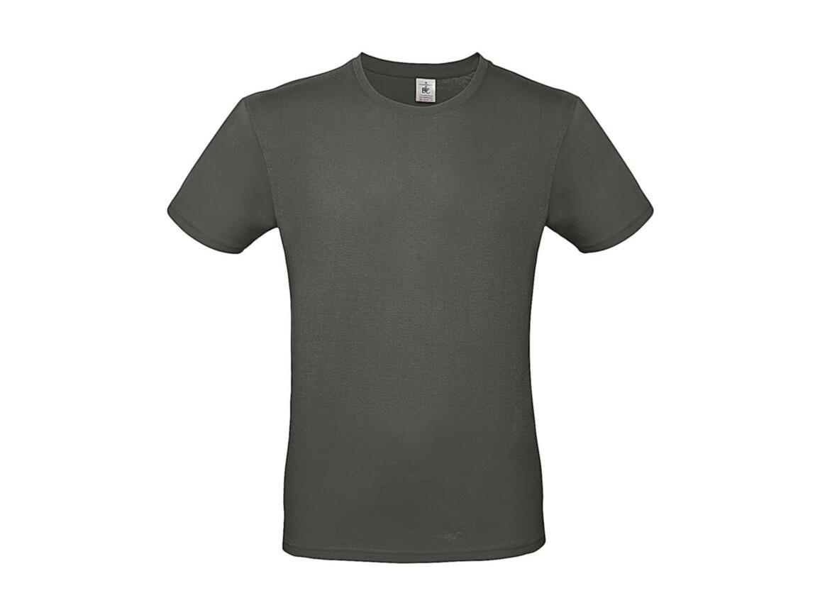 B & C #E150 T-Shirt, Millenial Khaki, S bedrucken, Art.-Nr. 015427331