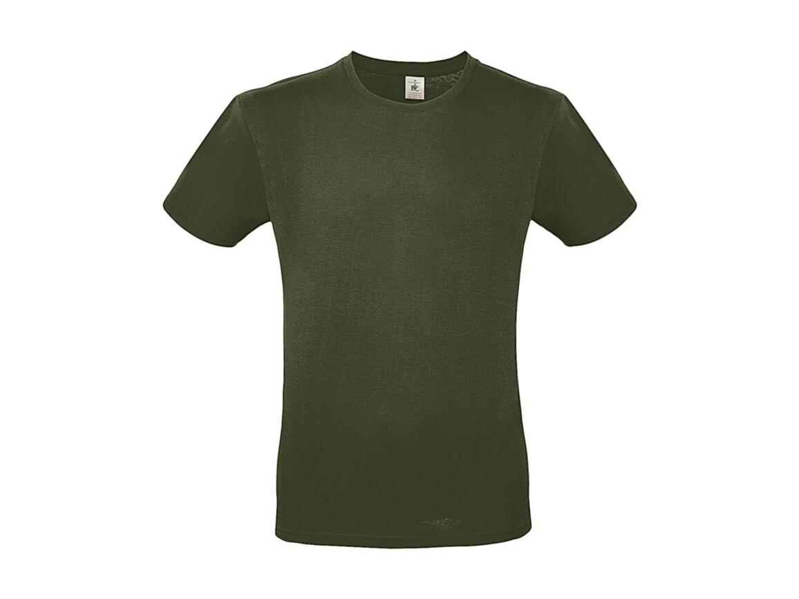 B & C #E150 T-Shirt, Urban Khaki, M bedrucken, Art.-Nr. 015427362