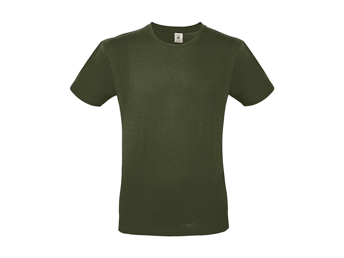 B & C #E150 T-Shirt, Urban Khaki, L bedrucken, Art.-Nr. 015427363