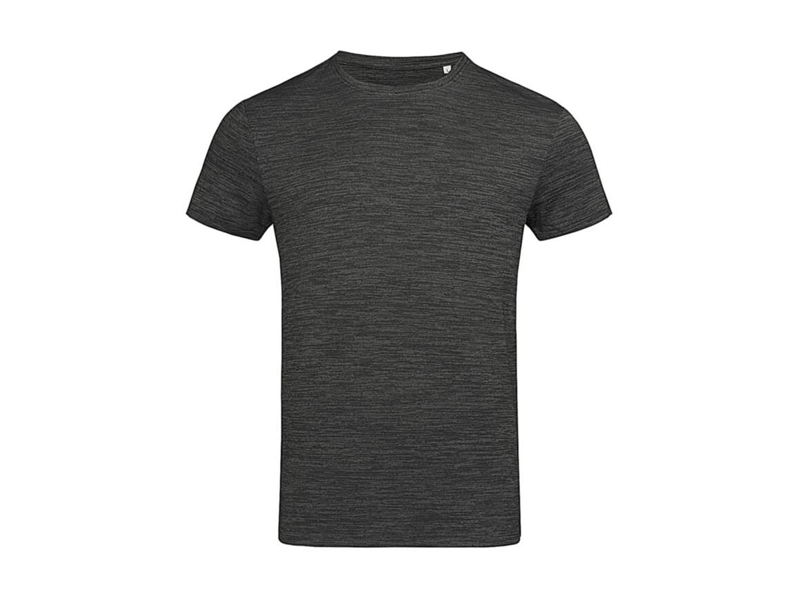 Stedman Active Intense Tech T-Shirt, Anthra Heather, M bedrucken, Art.-Nr. 016051184