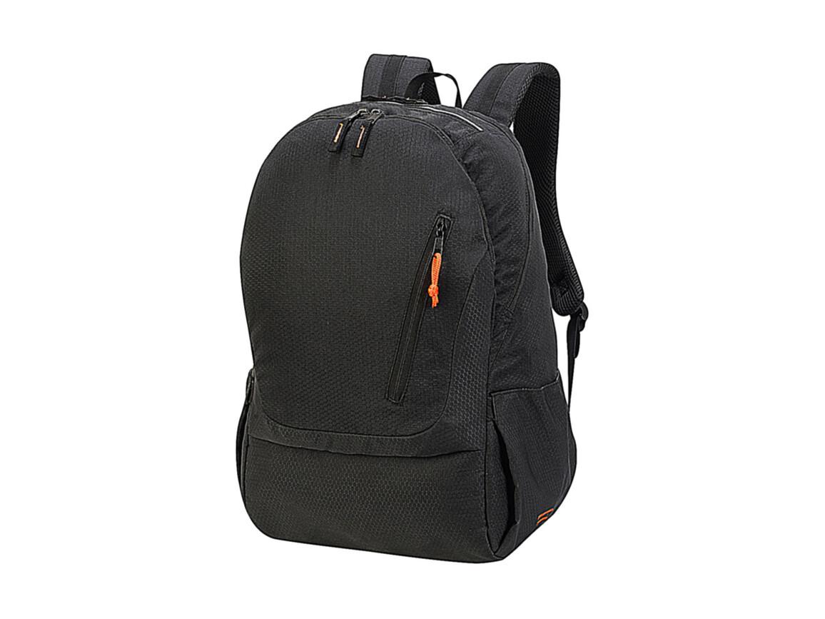 Shugon Cologne Absolute Laptop Backpack, Black Melange, One Size bedrucken, Art.-Nr. 016381060