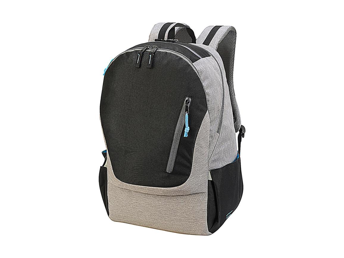 Shugon Cologne Absolute Laptop Backpack, Black/Grey Melange, One Size bedrucken, Art.-Nr. 016381560