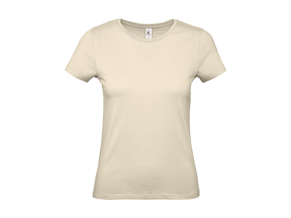 B & C #E150 /women T-Shirt, Natural, S bedrucken, Art.-Nr. 016420083