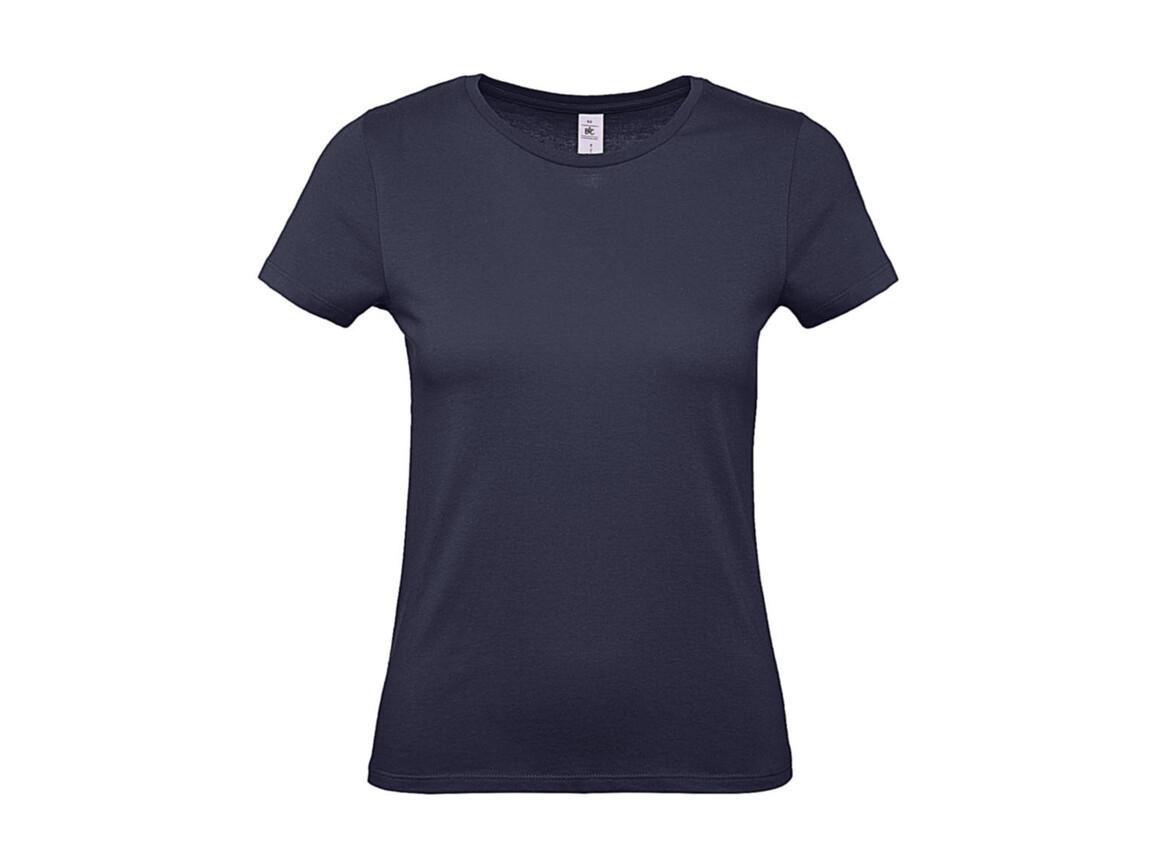 B & C #E150 /women T-Shirt, Urban Navy, XS bedrucken, Art.-Nr. 016422072