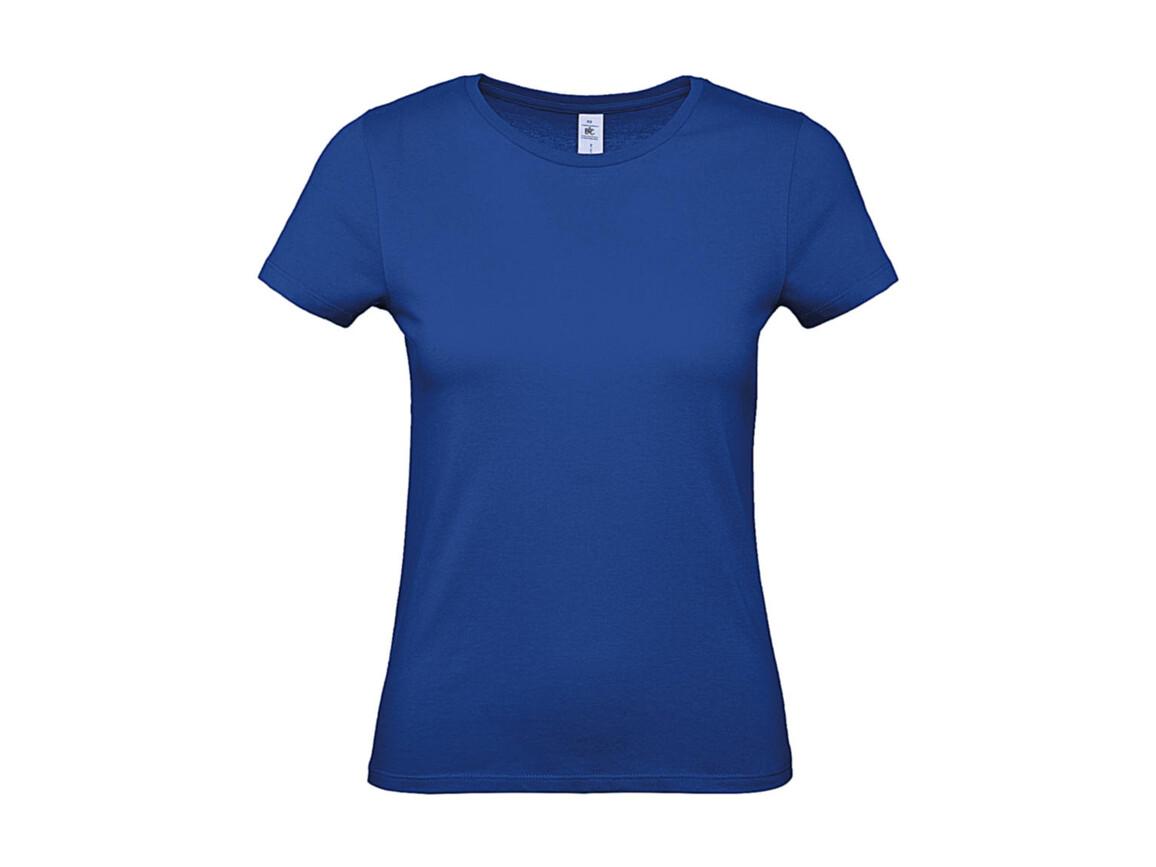 B & C #E150 /women T-Shirt, Royal Blue, XS bedrucken, Art.-Nr. 016423002