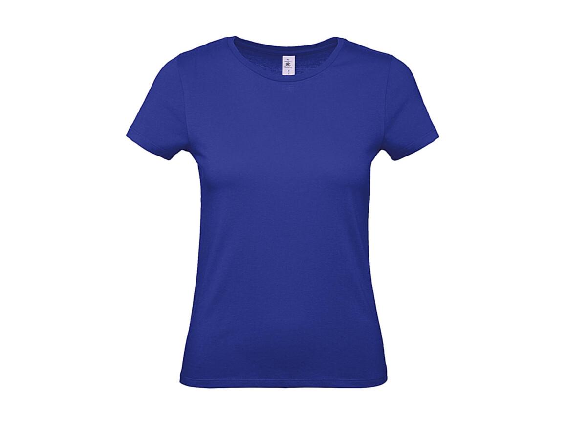 B & C #E150 /women T-Shirt, Cobalt Blue, XS bedrucken, Art.-Nr. 016423072