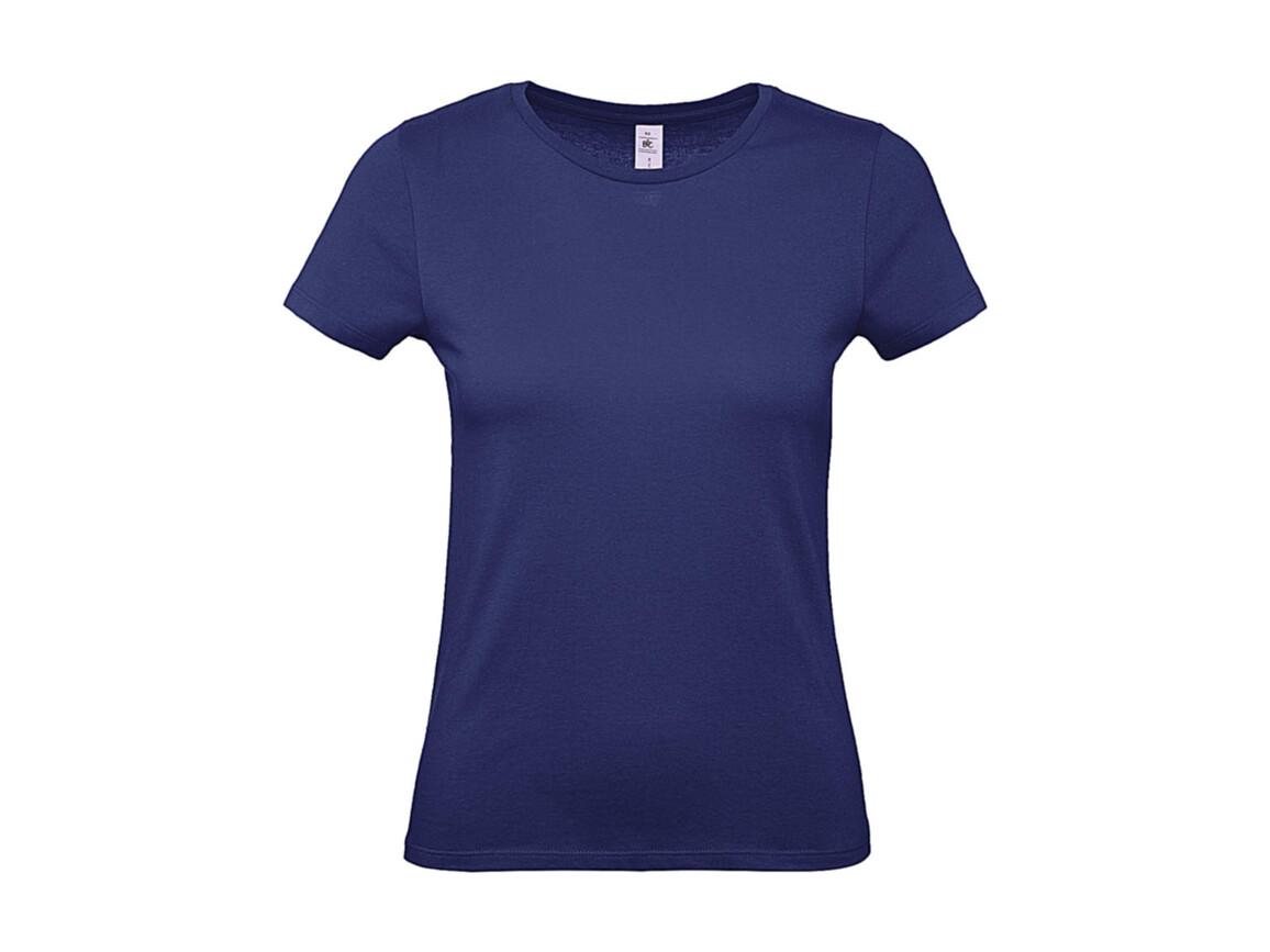 B & C #E150 /women T-Shirt, Electric Blue, L bedrucken, Art.-Nr. 016423085