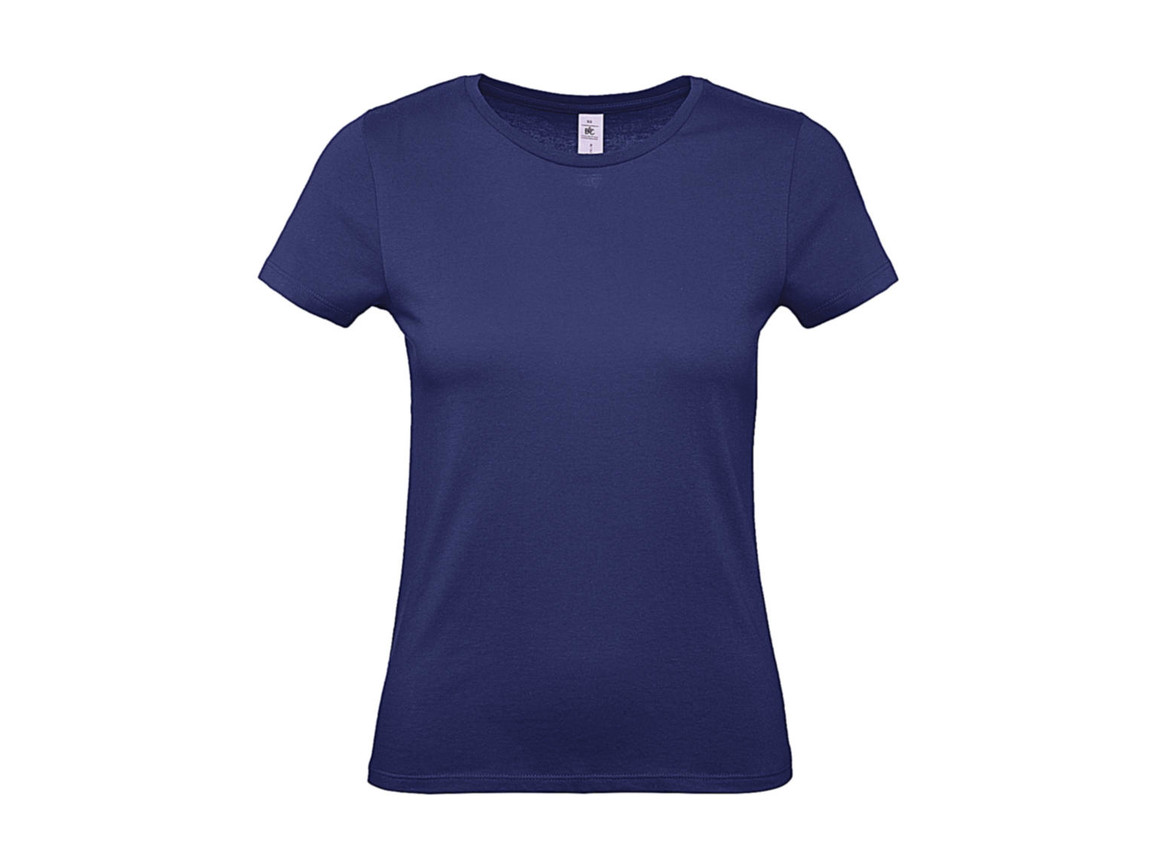B & C #E150 /women T-Shirt, Electric Blue, XS bedrucken, Art.-Nr. 016423082