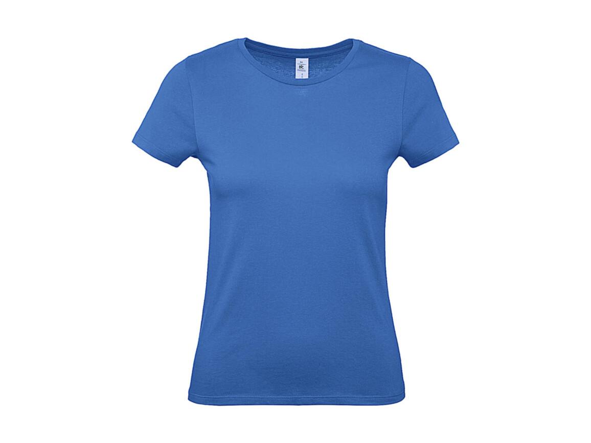 B & C #E150 /women T-Shirt, Azure, XS bedrucken, Art.-Nr. 016423102