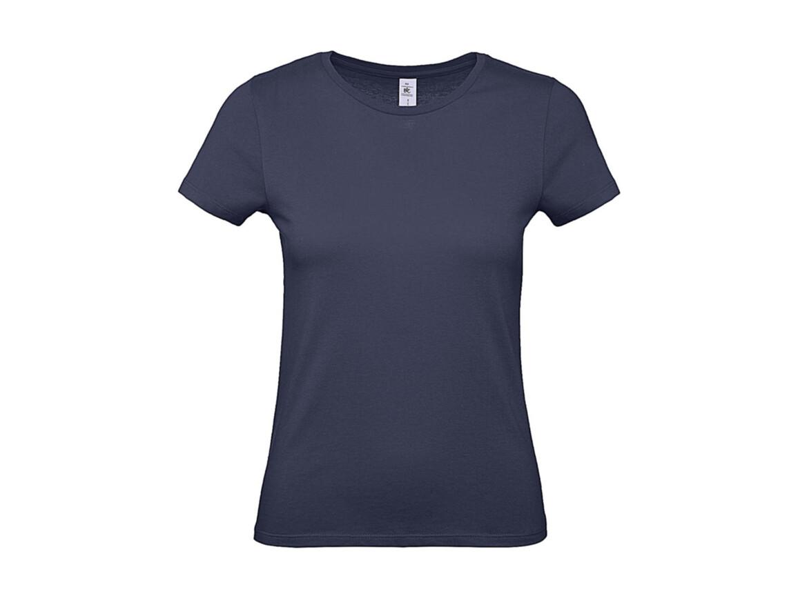 B & C #E150 /women T-Shirt, Denim, L bedrucken, Art.-Nr. 016423195