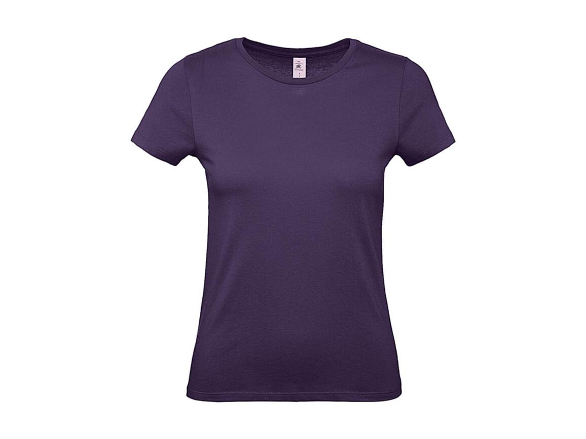 B & C #E150 /women T-Shirt, Radiant Purple, L bedrucken, Art.-Nr. 016423465