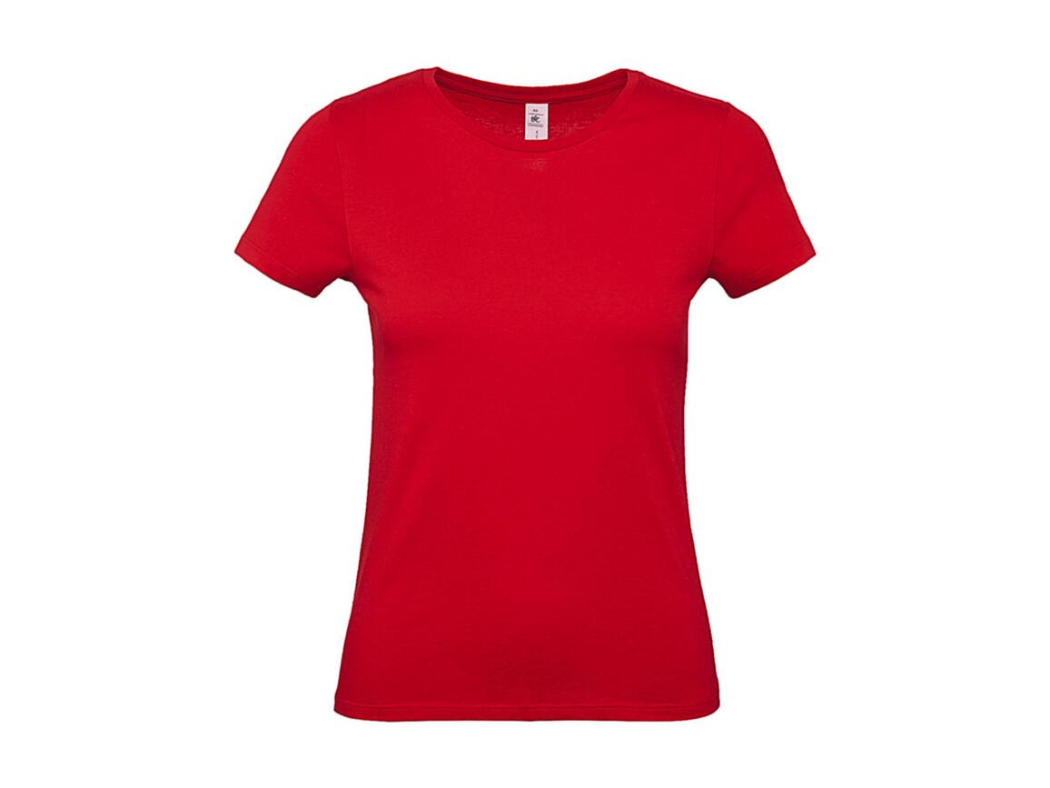 B & C #E150 /women T-Shirt, Red, L bedrucken, Art.-Nr. 016424005