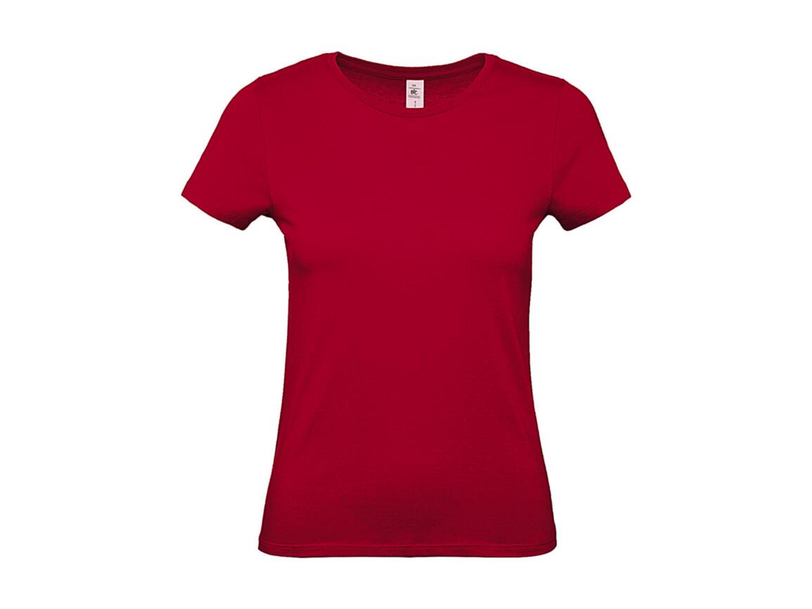 B & C #E150 /women T-Shirt, Deep Red, XL bedrucken, Art.-Nr. 016424066