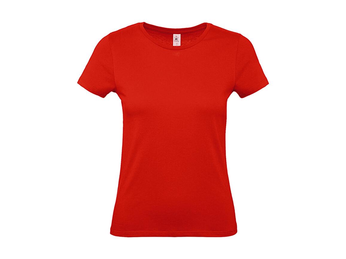 B & C #E150 /women T-Shirt, Fire Red, XL bedrucken, Art.-Nr. 016424076