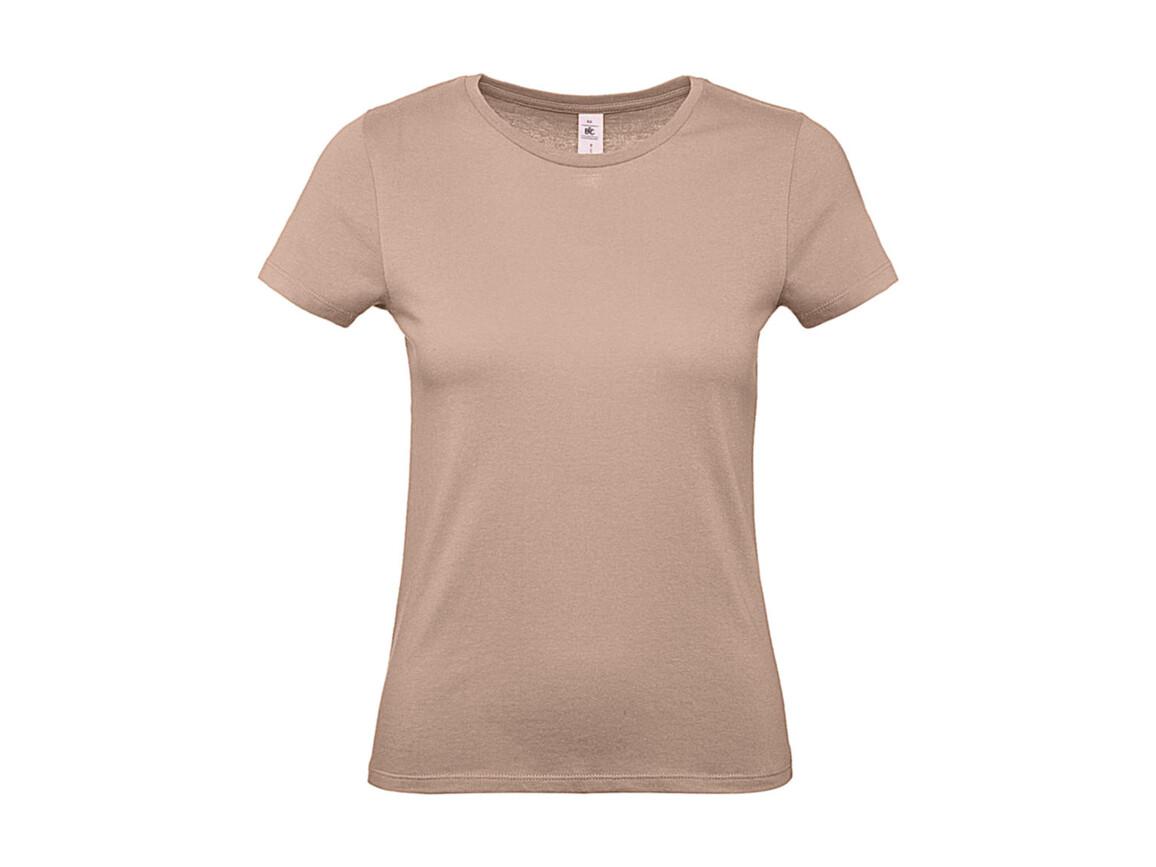 B & C #E150 /women T-Shirt, Millenial Pink, L bedrucken, Art.-Nr. 016424315