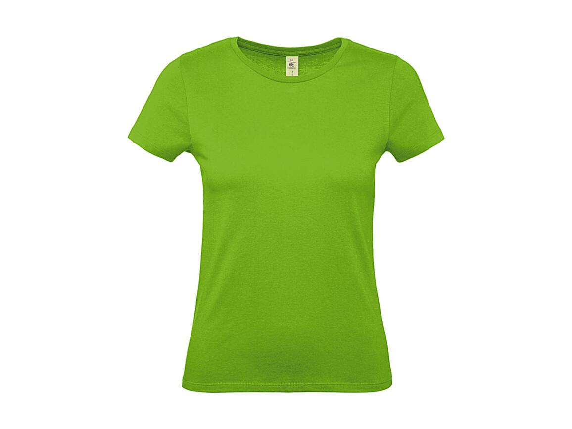 B & C #E150 /women T-Shirt, Orchid Green, M bedrucken, Art.-Nr. 016425064