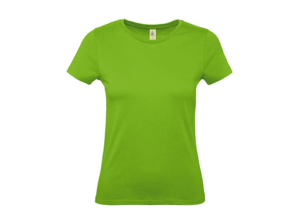 B & C #E150 /women T-Shirt, Orchid Green, XS bedrucken, Art.-Nr. 016425062