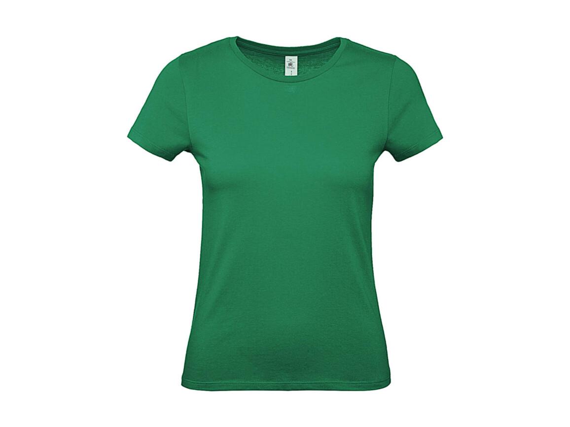B & C #E150 /women T-Shirt, Kelly Green, 2XL bedrucken, Art.-Nr. 016425187