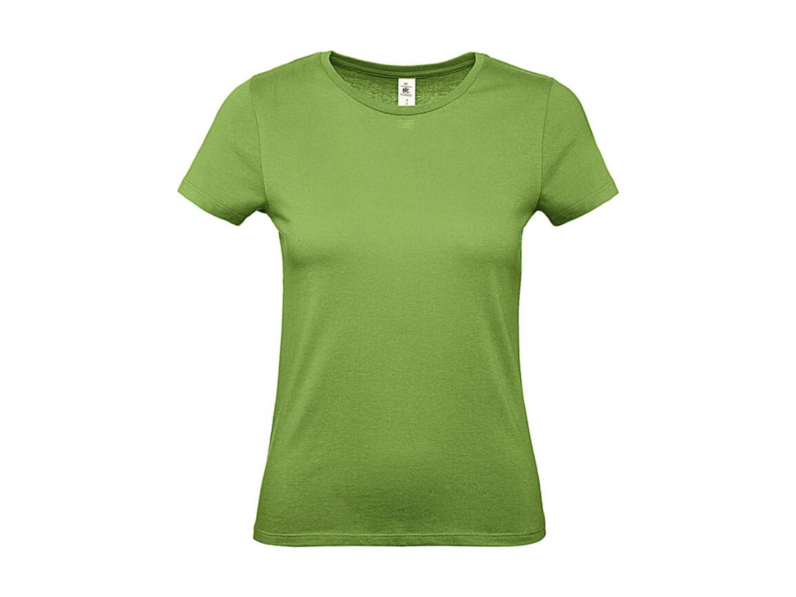 B & C #E150 /women T-Shirt, Pistacho, S bedrucken, Art.-Nr. 016425503