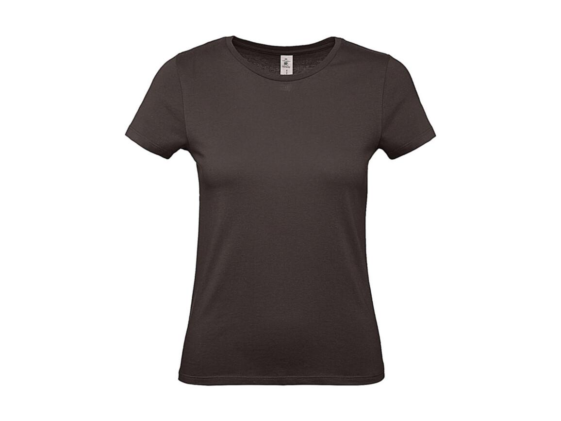 B & C #E150 /women T-Shirt, Bear Brown, XS bedrucken, Art.-Nr. 016427102