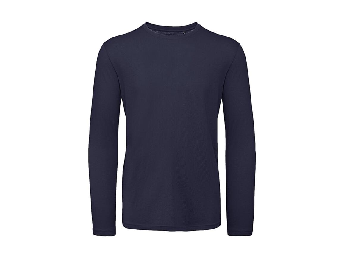 B & C Inspire LSL T /men T-Shirt, Urban Navy, 3XL bedrucken, Art.-Nr. 017422078