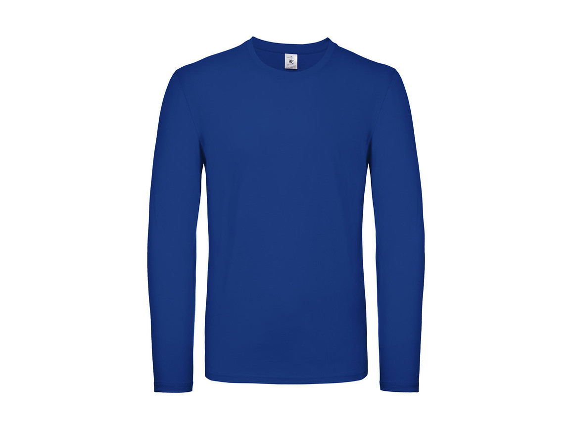 B & C #E150 LSL, Royal Blue, L bedrucken, Art.-Nr. 027423005
