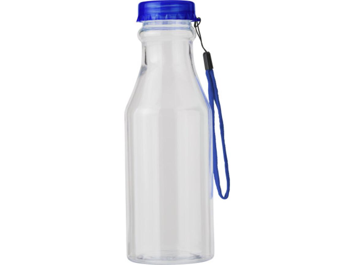 Trinkflasche 'Mary' aus Kunststoff – Blau bedrucken, Art.-Nr. 005999999_7835