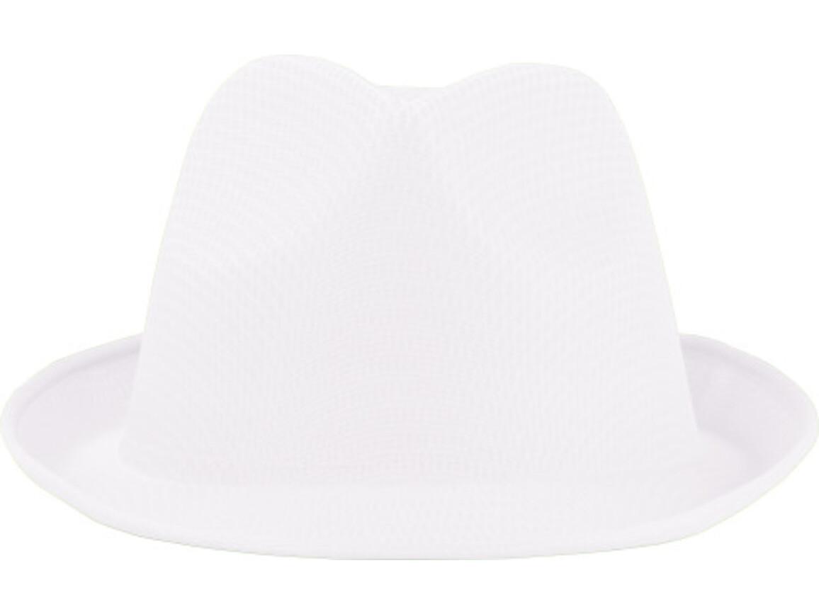 Hut 'Havanna' aus Polyester – Weiß bedrucken, Art.-Nr. 002999999_8246
