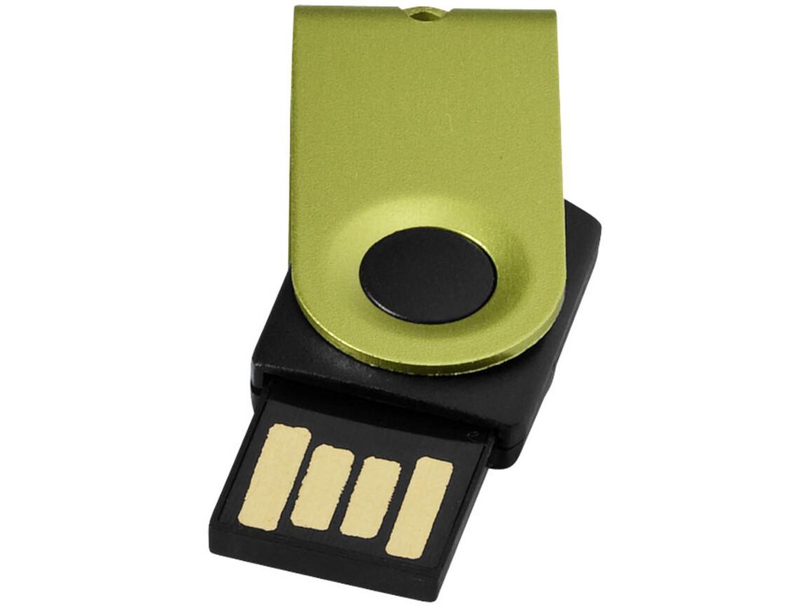 Mini USB-Stick, apfelgrün, 32GB bedrucken, Art.-Nr. 1Z38720L