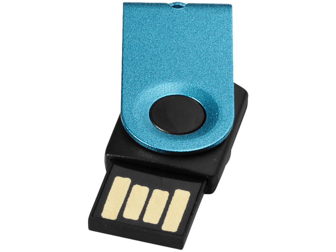 Mini USB-Stick, navy, 16GB bedrucken, Art.-Nr. 1Z38724K