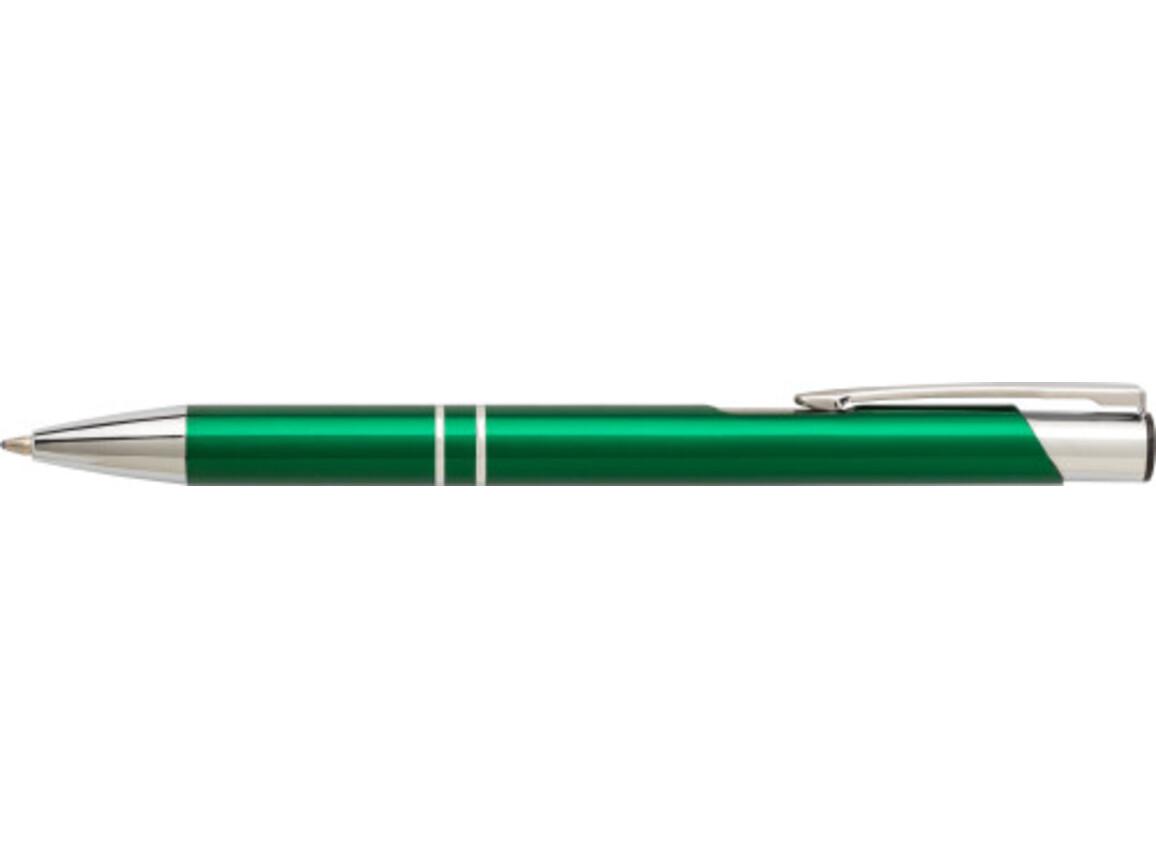 Kugelschreiber 'Iberia' aus Aluminium – Schwarz bedrucken, Art.-Nr. 001999999_7061