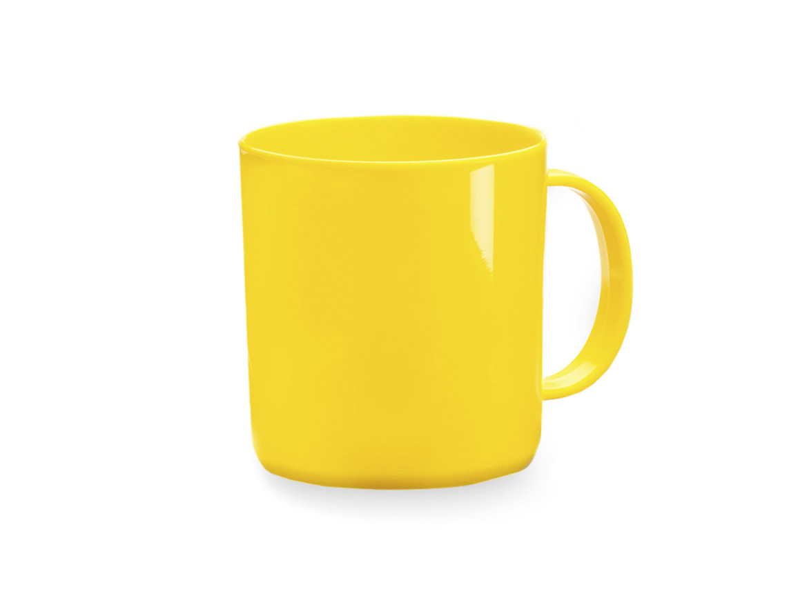 Witar - Tasse - YELLOW bedrucken, Art.-Nr. 2495AMAS/T