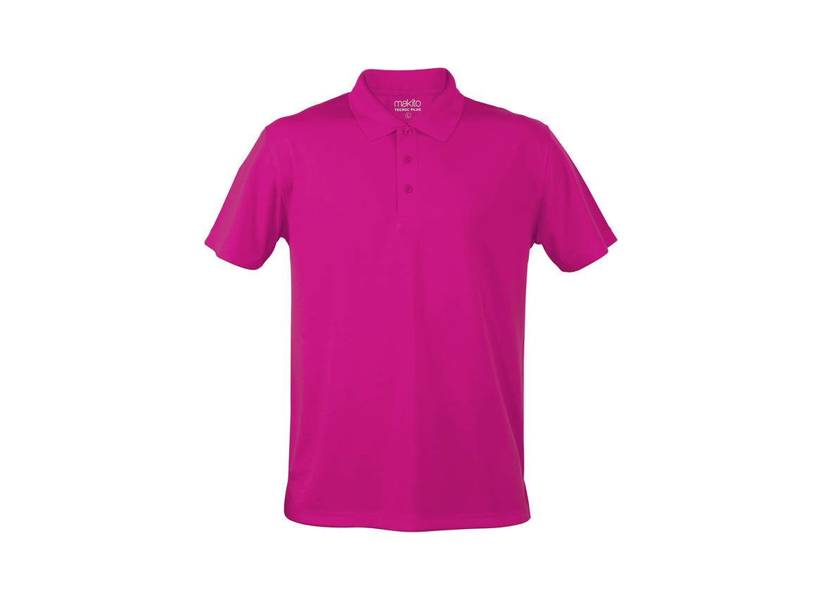 Tecnic Plus - Polo-Shirt - FUCSIA - S bedrucken, Art.-Nr. 4187FUCSIS